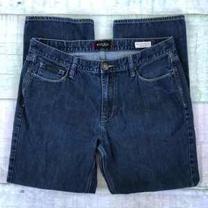 Guess Regular Straight Crescent Fit Mens Jeans 38